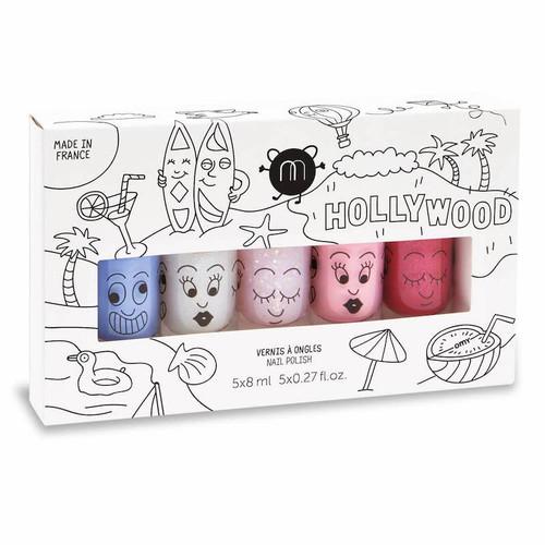Hollywood Set of 5 Nail Polishes