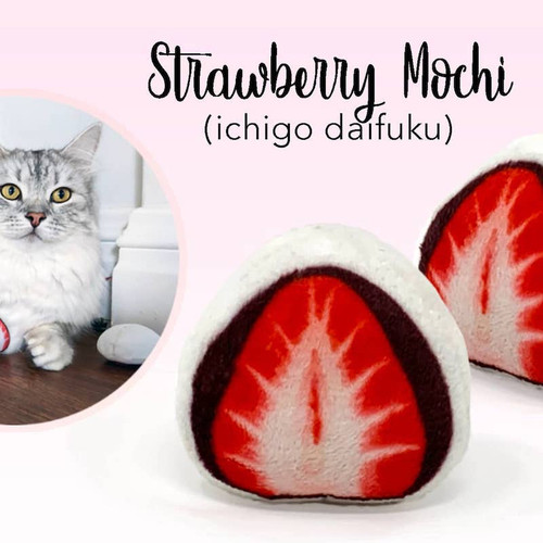 Strawberry Mochi Catnip
