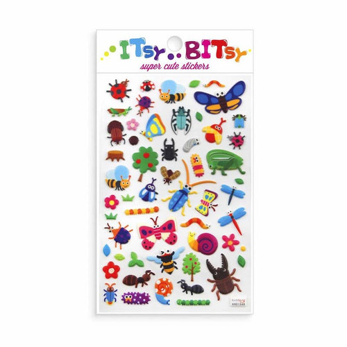 Itsy Bitsy Stickers: Bugs