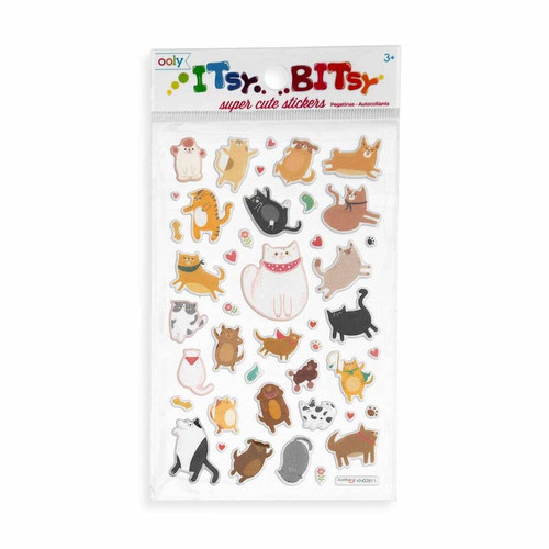 Itsy Bitsy Stickers: Pets