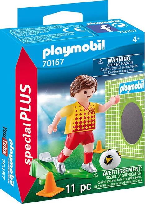 Soccer Player & Goal