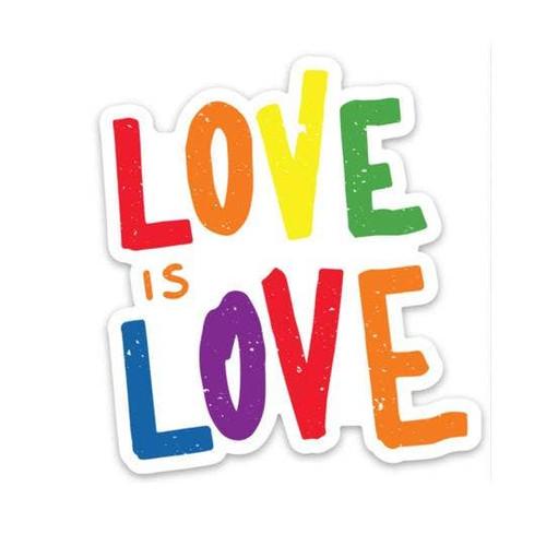 Love is Love Vinyl Sticker