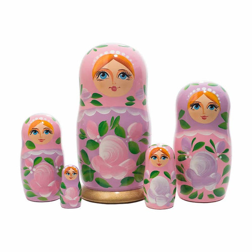 Pink Nesting Doll