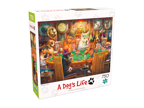 A Dog's Life: Poker Pups Puzzle