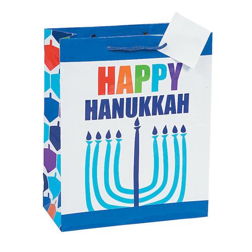 Happy Hanukkah Gift Bag