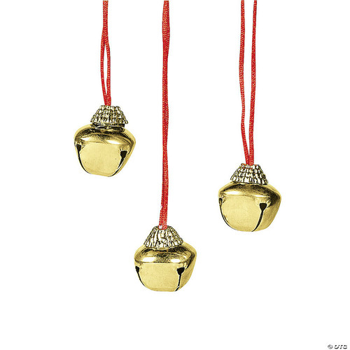 Gold Jingle Bell Necklace