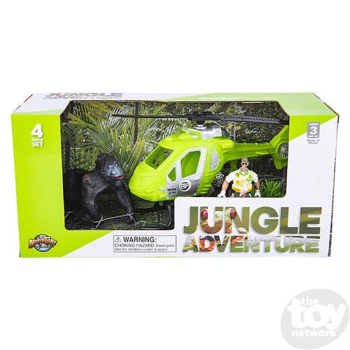Jungle Adventure Playset