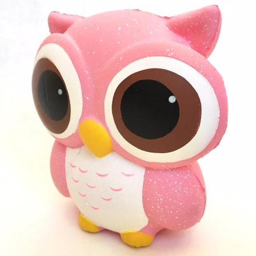 Pink Owl Squish