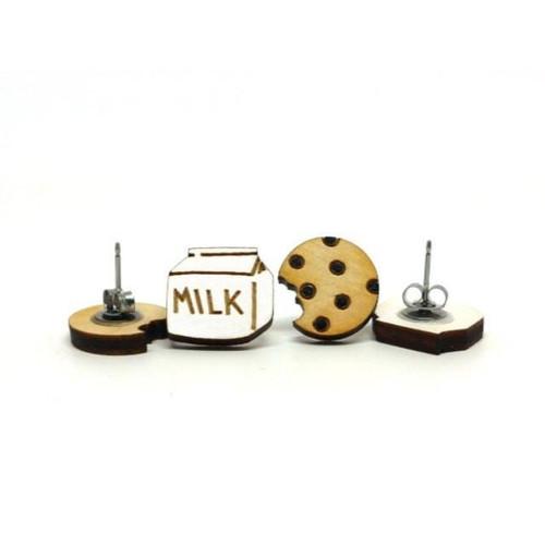 Cookie & Milk Earrings