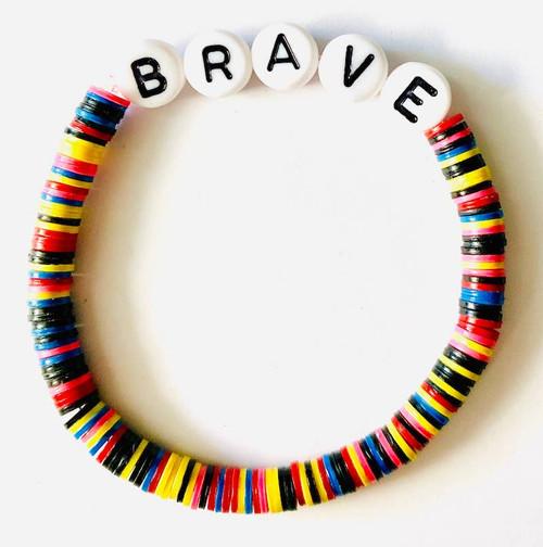Brave Beaded Bracelet