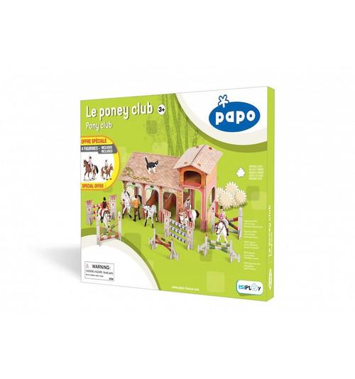 Pony Club Playset with Horses & Figurines