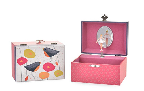 Poppies Musical Jewelry  Box