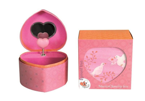 Doves Musical Jewelry Box