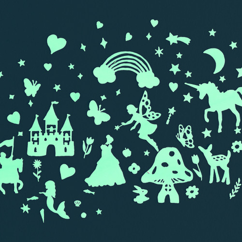 Glow in the Dark Stickers: Fairy Tales