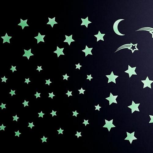 Glow in the Dark Stickers: Starry Night