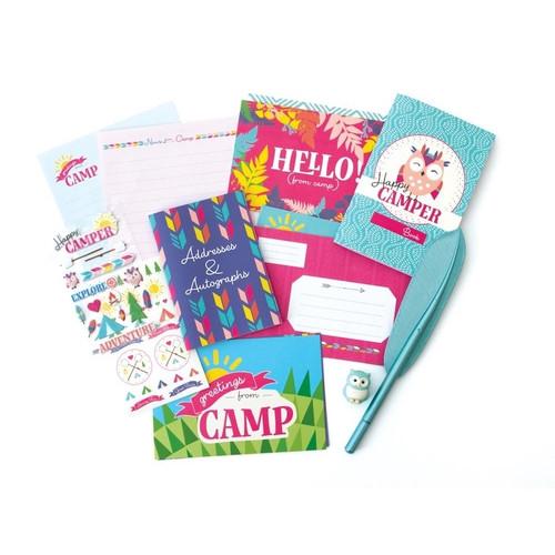 Happy Camper Stationary Set