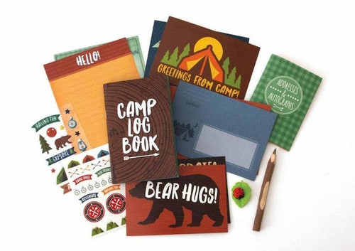 Adventures at Camp Stationary Set