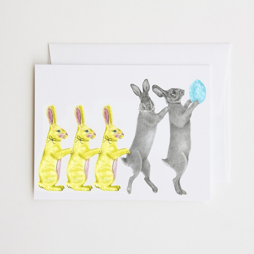 Cottontail Rabbit Note Card
