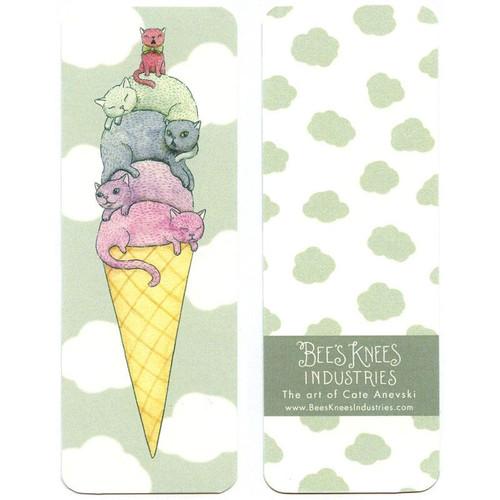 Ice Cream Cats Bookmark