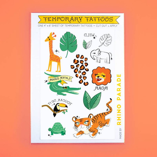 Wild Tattoo Sheet