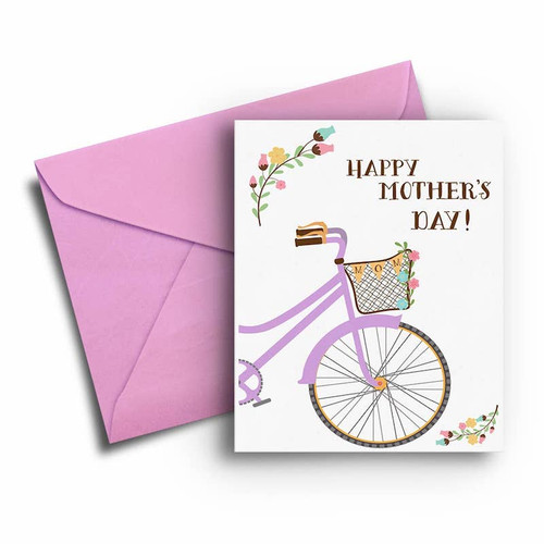 Bike Mother's Day Card