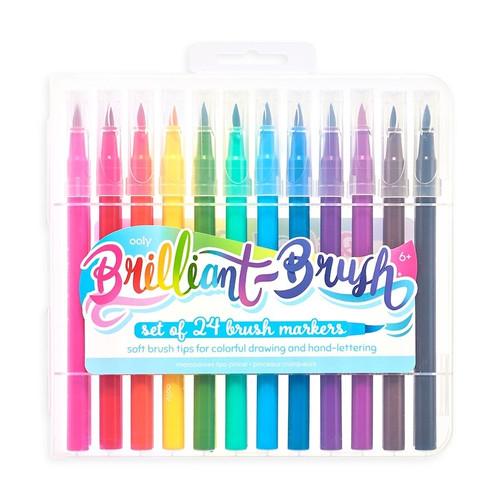 Brilliant Brush  Markers