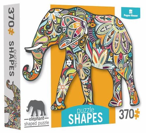 Elephant Mosaic Puzzle