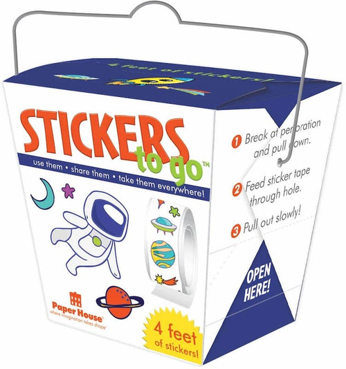 Space Stickers To Go