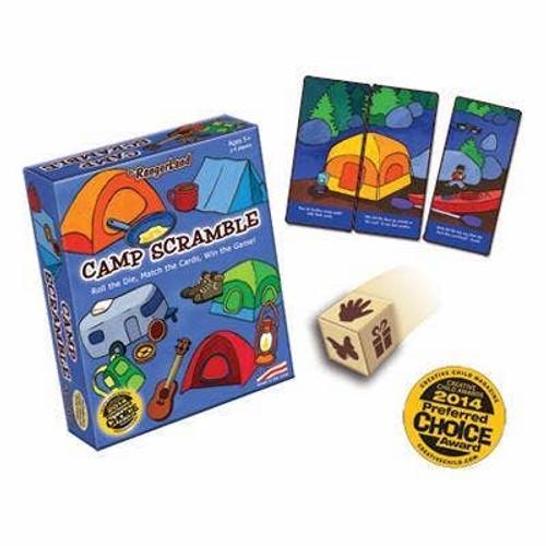 Camp Scramble Card Game