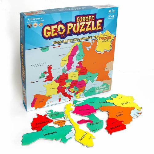 Geo Puzzle: Europe
