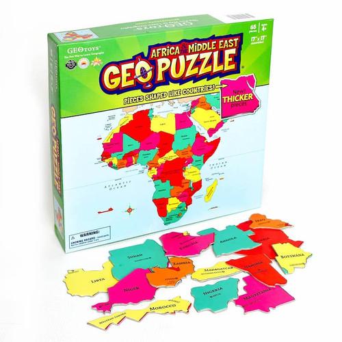 Geo Puzzle: Africa