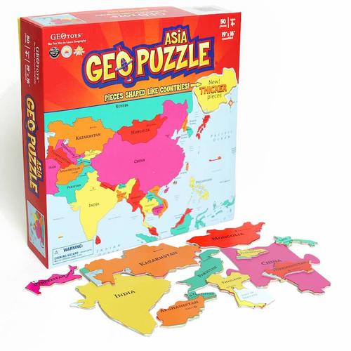 Geo Puzzle: Asia