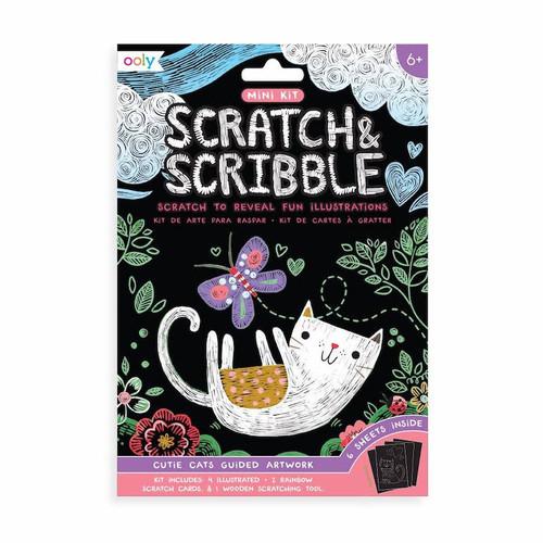 Mini Scratch & Scribble: Cutie Cats