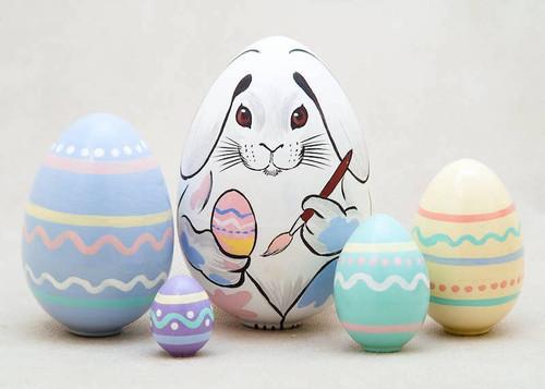Easter Bunny Nesting Doll