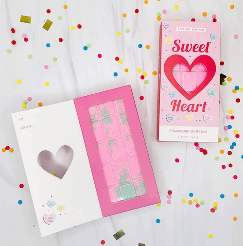 Sweet Heart Strawberry Bath Bomb
