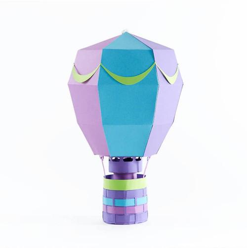 Hot Air Balloon Paper Craft Kit: Chimera