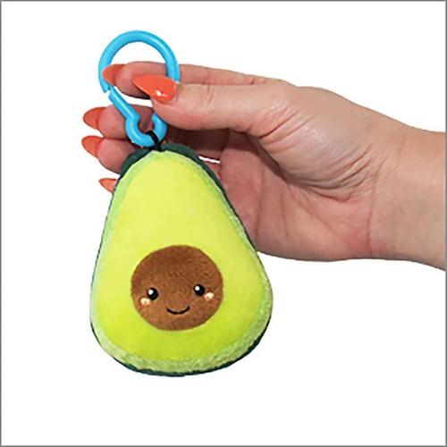 Avocado with clip