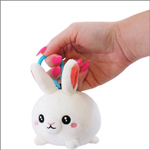 Fluffy Bunny with clip