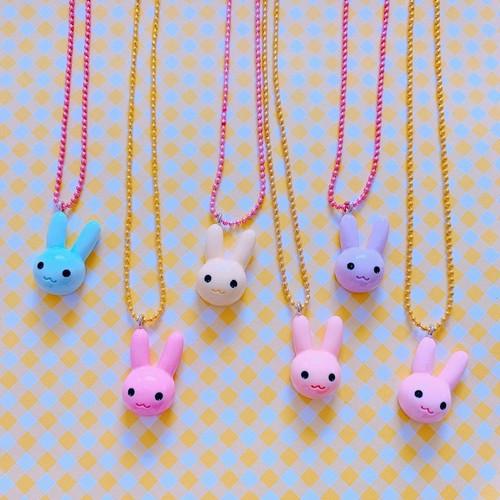 Bunny Head Necklace