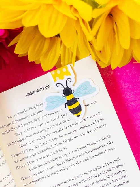 Magnetic Bookmark: Bumble Bee
