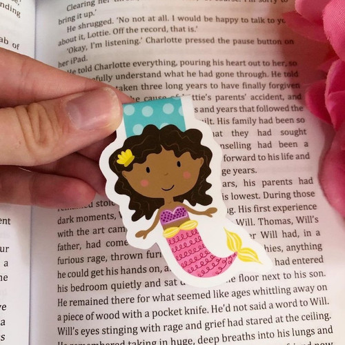 Magnetic Bookmark: Mermaid