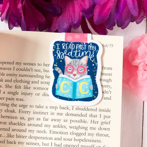 Magnetic Bookmark: I Read Past My Bedtime