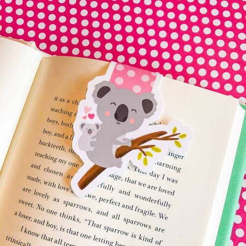 Magnetic Bookmark: Koala