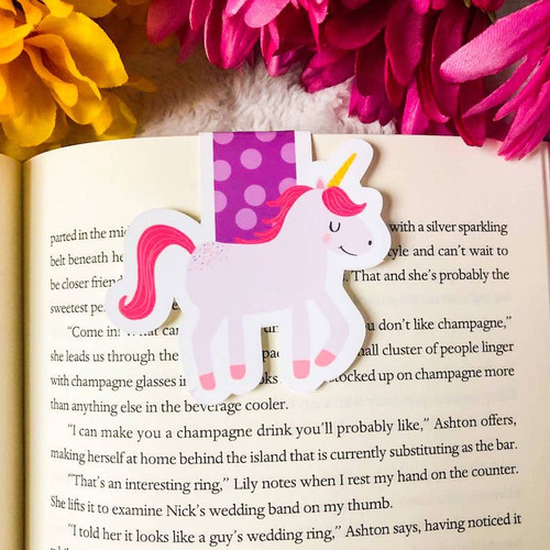 Magnetic Bookmark: Unicorn