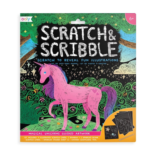 Scratch & Scribble Unicorn