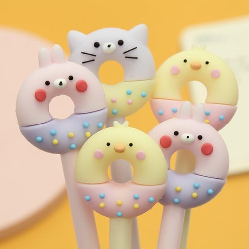 Donut Animal Gel Pen