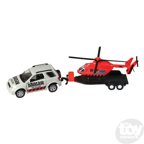 Dino Rescue & Helicopter  Set