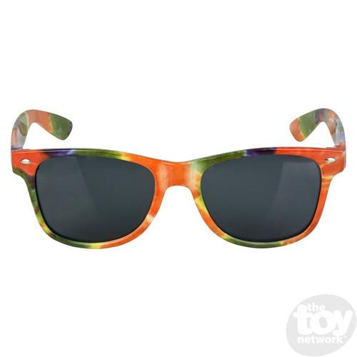 Tie Dye Frame Sunglasses