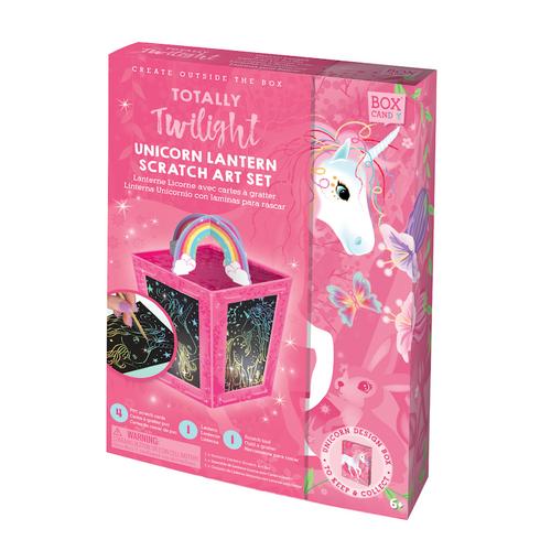 Unicorn Lantern Scratch Art Kit