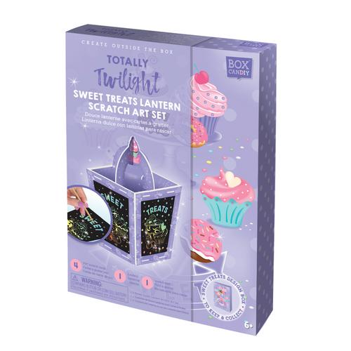 Sweet Treats Lantern Scratch Art Kit